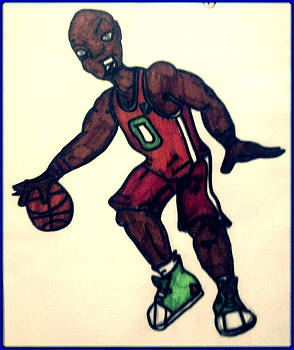 The Basket Ball Player by Daniel Price