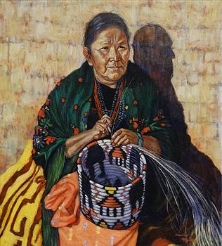 The Basket Weaver by Charles Munn