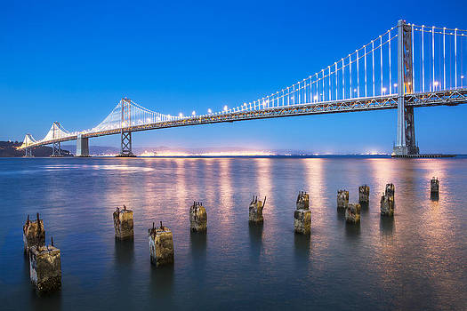 The Bay Bridge by Ross Murphy