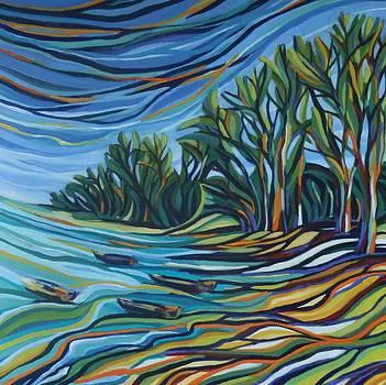 The Bay in Colors by Zofia  Kijak
