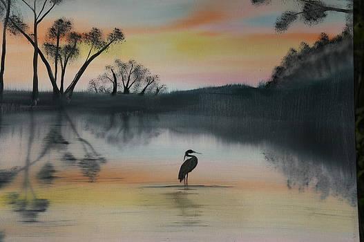 The Bayou by Donna Jeanne  Carver