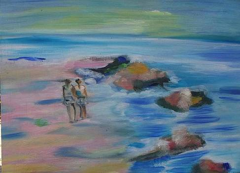The beach   by Daniela Nedelea