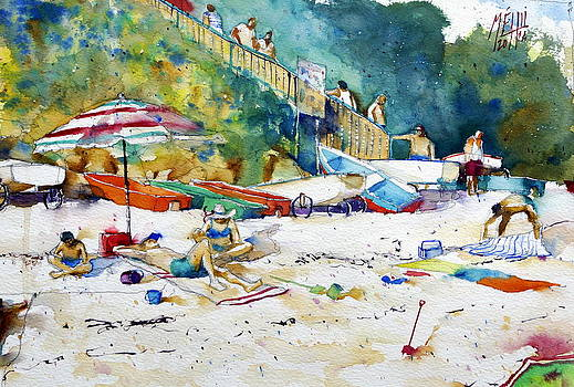 The beach Fort Bloque by Andre MEHU