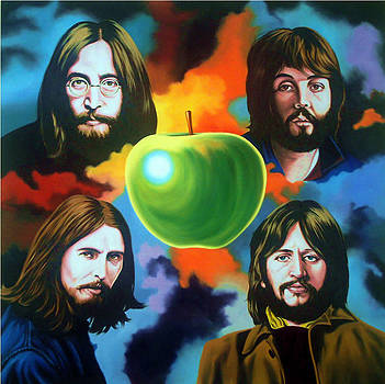 The Beatles by Hector Monroy by Hector Monroy