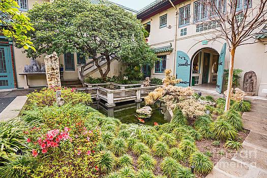 Jamie Pham - The beautiful courtyard of the Pacific Asia Museum in Pasadena.