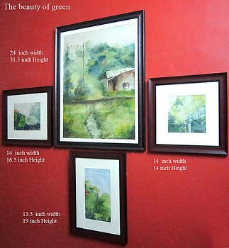 The Beauty Of Green by Prabhootty Parambath