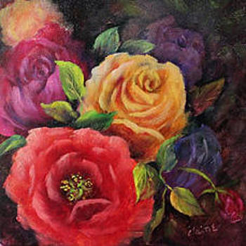 The Beauty of Roses by Elaine Bailey