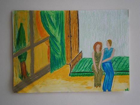 The bedroom by Tania  Katzouraki