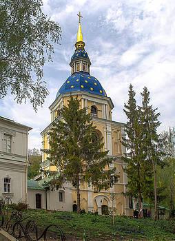 Matt Create - The Belfry at Vydubichi Monastery.