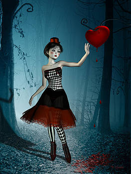 The bleeding heart by Britta Glodde
