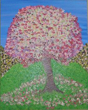 The blossom tree by Jilly Curtis