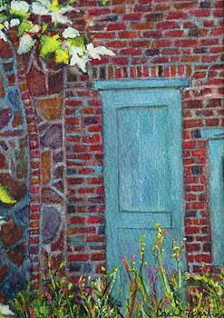 The Blue Door by Carol Warner
