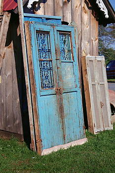 The Blue Doors by Rebecca Smith