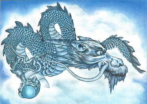 The Blue Dragon by Troy Levesque
