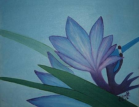 The Blue Flower by Dipali Deshpande