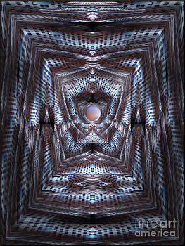 The Blue Hall Interior by Gillian Owen