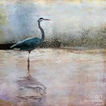 Liane Wright - The Blue Heron Looks On