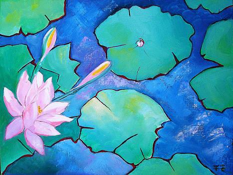 The Blue Lagoon by Gloria Dietz-Kiebron