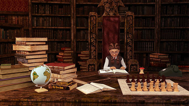 Liam Liberty - The Bookworm
