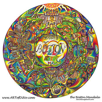 the Boston Mandala by DiNo