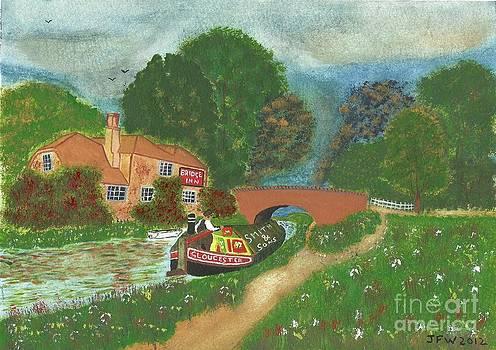 The Bridge Inn by John Williams