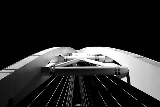 The bridge  over nothingness by Tommaso Di Donato