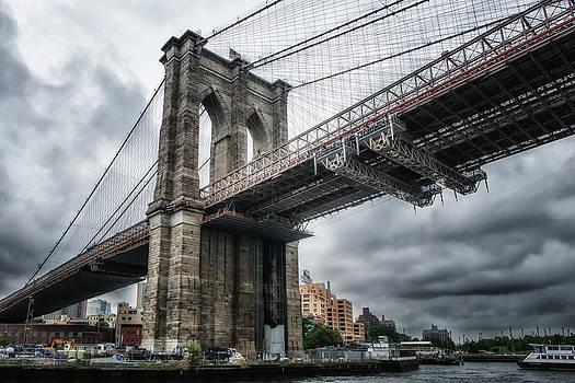 The Brooklyn Bridge by Linda Karlin