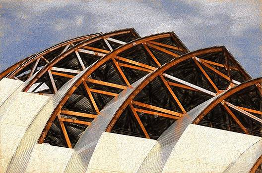The Building of Kauffman  by Liane Wright
