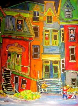 The Burko Apartments by Michael Litvack