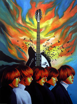 The Byrds by Hector Monroy by Hector Monroy