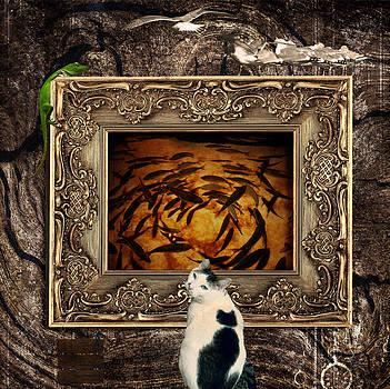 The Cat by Elena Mussi