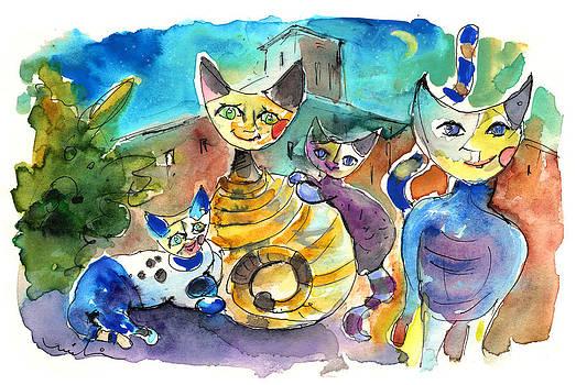 Miki De Goodaboom - The Cat Family of Toledo