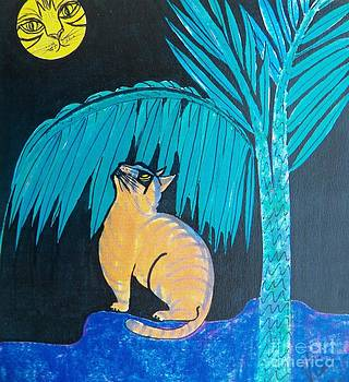 Judy Via-Wolff - The Cat in the Moon