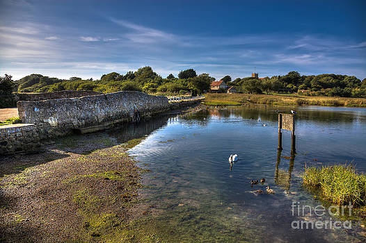 English Landscapes - The Causeway Freshwater