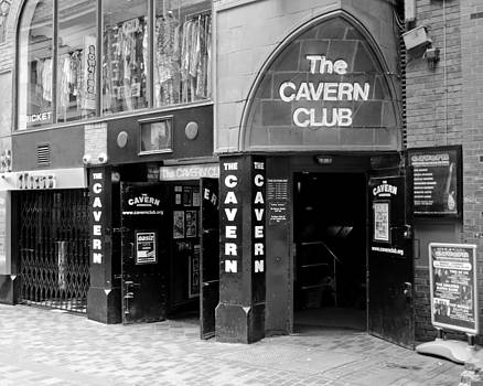The Famous Cavern Club Entrance Liverpool by Norman Pogson