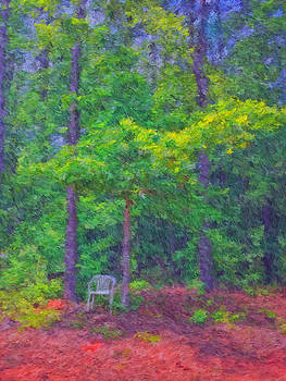 The Chair-Impressionist by James Corley