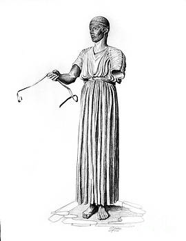 The charioteer of Delphi by Gina Pardo