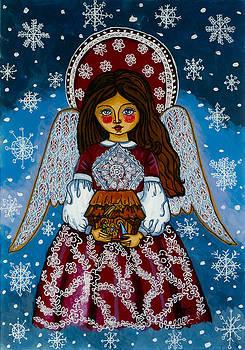 The Christmas angel by Iwona Fafara-Pilch