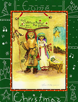 The Christmas Pageant by Glenna McRae