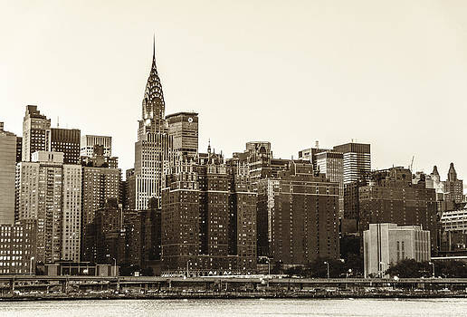 The Chrysler Building and New York City Skyline by Vivienne Gucwa