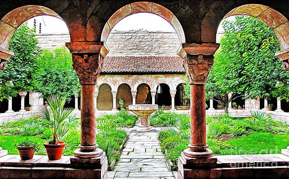 The Cloisters Garden by Nishanth Gopinathan