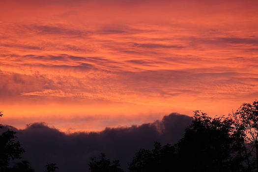 The Clouds on Fire by Patricia Hiltz