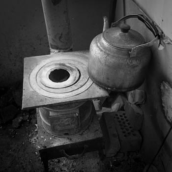 The coal-stove by Stephanus Le Roux