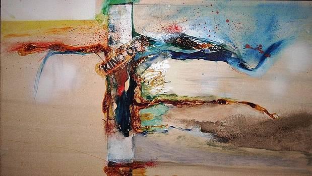 The Cross by Meyer Van Rensburg