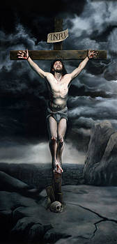 The Crucifixion by Eric  Armusik
