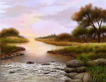 The Current River by Sena Wilson