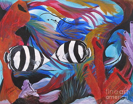 The Dance of the Banded Butterflyfish by Barbara Petersen
