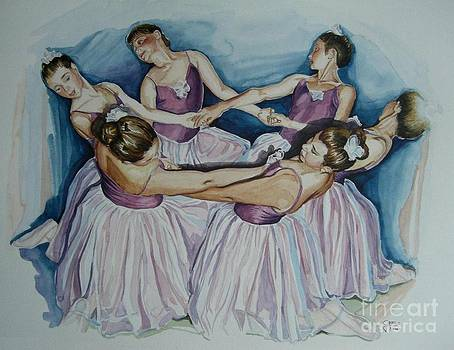 The Dancers by Gina Pardo