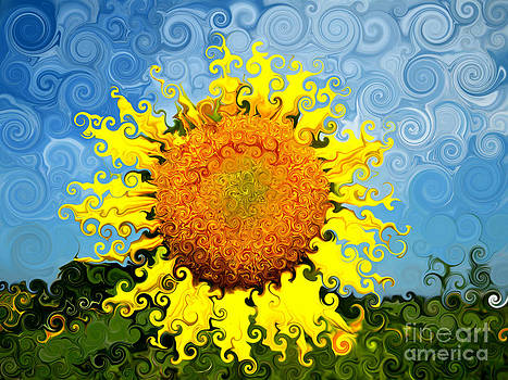 The Day of the Sunflower by Lorraine Heath