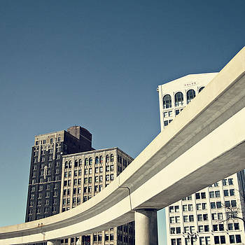The Detroit People Mover by Alanna Pfeffer